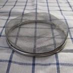こんなふうに平らに。網の代用品