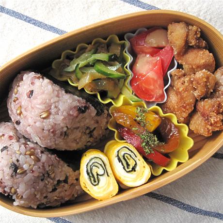 飯島奈美さんの「鶏のからあげ」入りお弁当