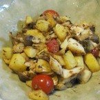鱈とジャガイモの洋風ソテー