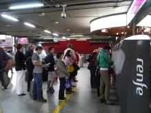アトーチャ駅の自動販売機