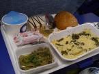機内食 リゾット(私)