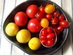 フルーツトマトの盛り合わせ