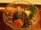 野菜の煮物(人参・ズッキーニ・インゲン・かぼちゃ)