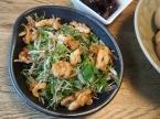 唐揚げ入り香味野菜サラダ