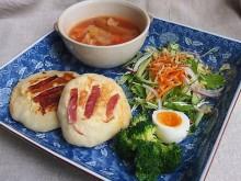 ワンプレート ランチ[手作りパン&トマトスープなど…]