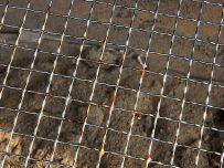BBQ使用後の網