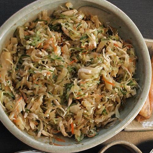 ザーサイ中華サラダ