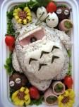 Bento #16: Sleeping Totoro