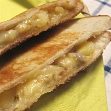 メープルシュガー入りバナナサンドイッチ 薄型