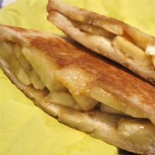 メープルシュガー入りバナナサンドイッチ 厚型