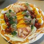 誕生日の料理「ジャングルサラダ」