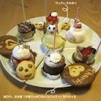 ホールじゃないケーキで誕生日を祝う