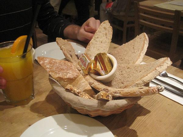 フランスパン盛り合わせ