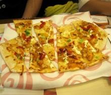 娘ムコが注文したピザ
