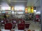 チャマティン駅のカフェ