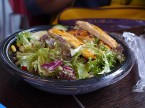 バーガーキングのサラダ