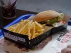 バーガーキングのハンバーガー