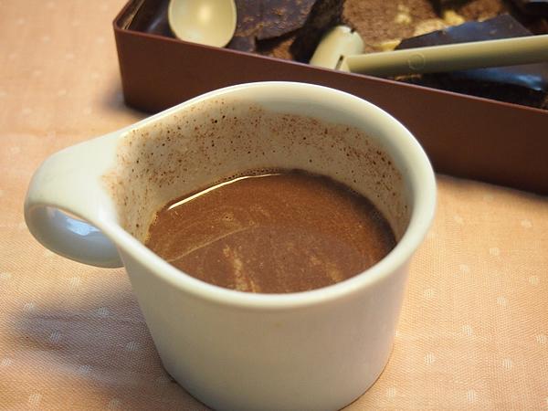 ジュラシックショコラ ホットチョコレート