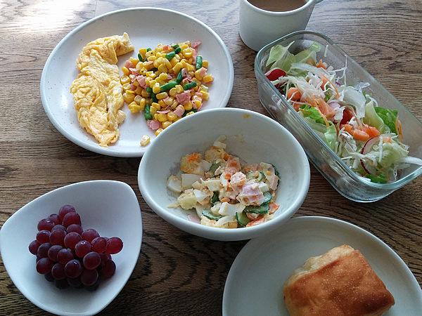 ちょっと頑張った朝食