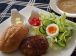 ワンプレート ランチ[ハンバーグ&オニオンスープ…]