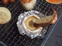 BBQ カマンベールチーズ&フランスパン