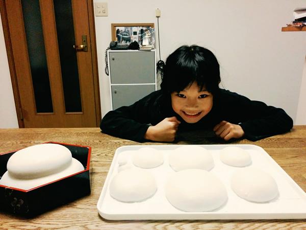 手作り鏡餅