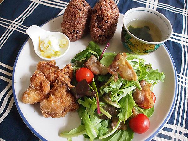 ワンプレート ランチ[鶏の唐揚げ+サラダ]